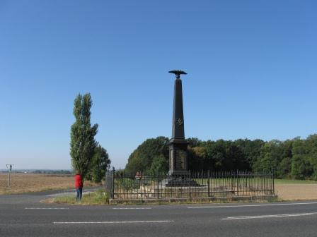 Austrian War Memorial on the Heights of Lipa on the Königgrätz battlefield