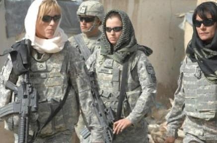 American Women in Hijabs