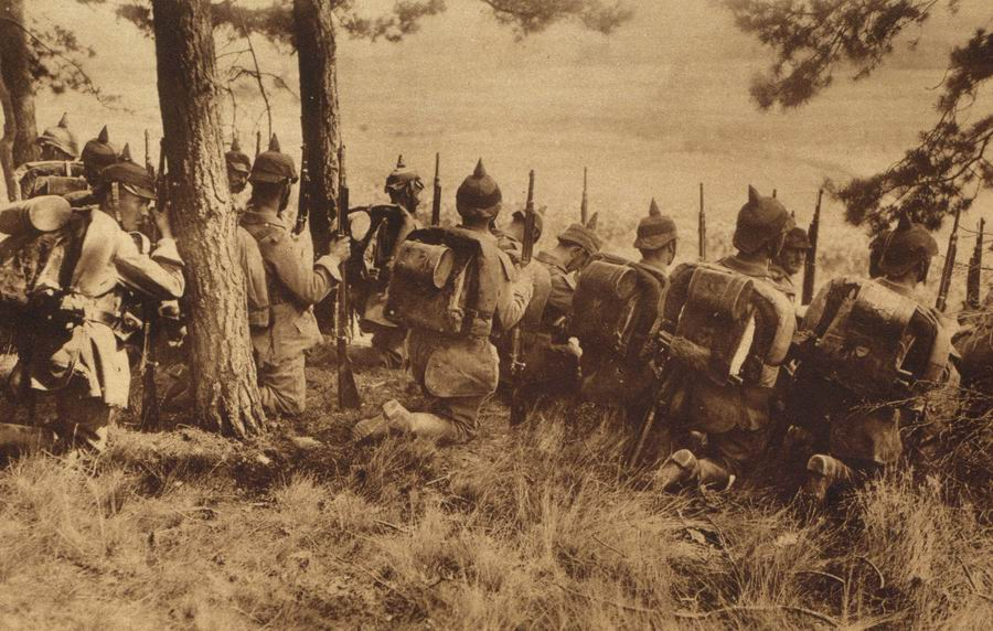 Image result for ww1 fighting around liege