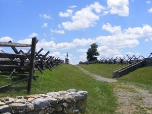 Sunken Road (Bloody Lane) at Antietam Battlefield
