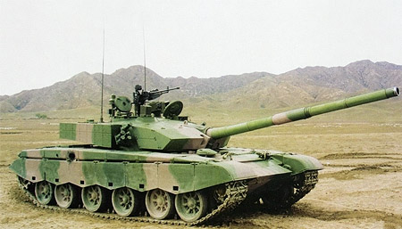 Chinese Type 99 Main Battle Tank