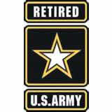 US Army retired-logo