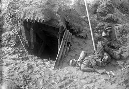 UNidentified Corpse on the Western Front circa 1916