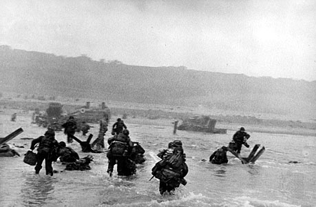 capa beach of normandy D-Day