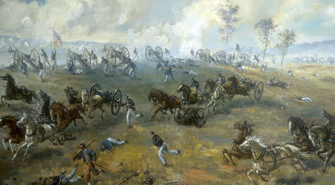 The First Battle of Manassas – 21 July, 1861