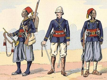 French Tirailleurs of 1914