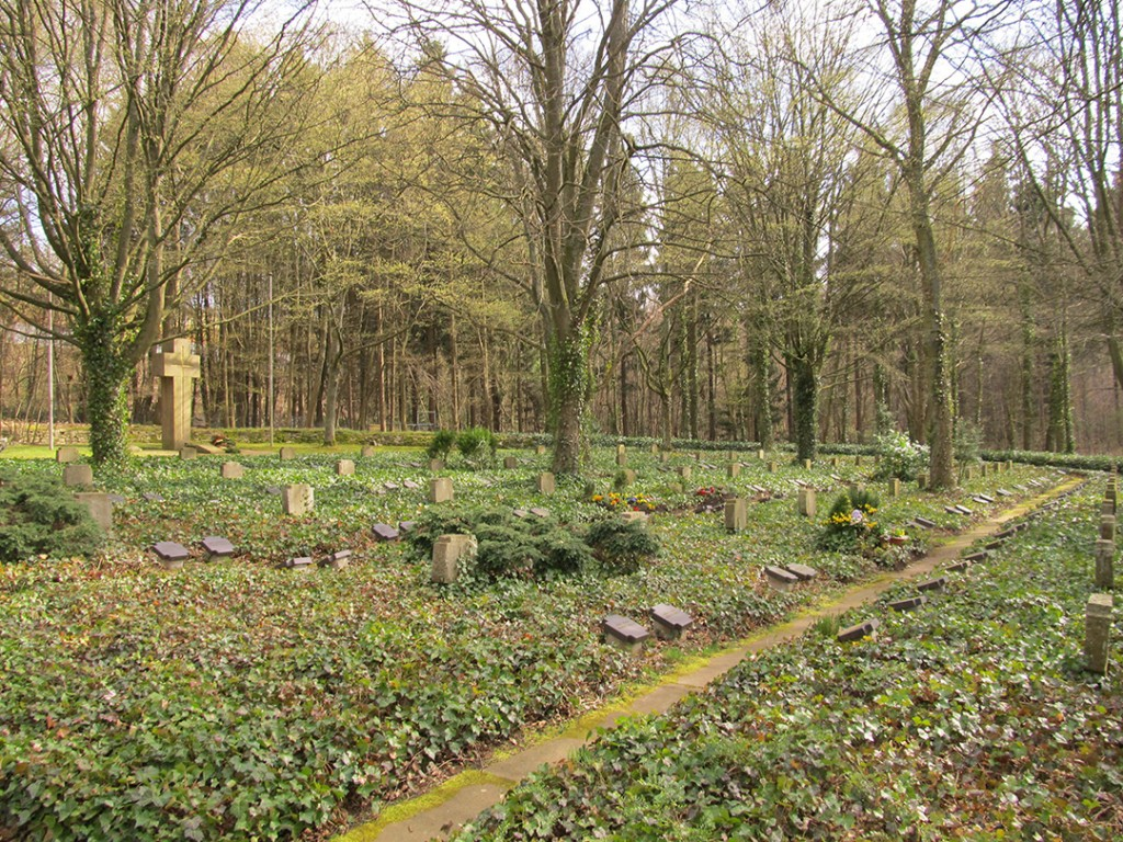German War Cemetery in Pfaffenheck