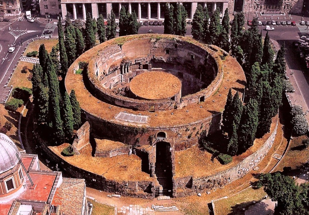 Mausoleum of Augustus on the Campus Martius in Rome