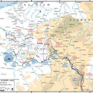 Maneuvers 30 Aug-5 Sep 1914
