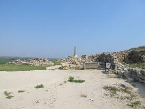 The famous (semi at least) memorial column