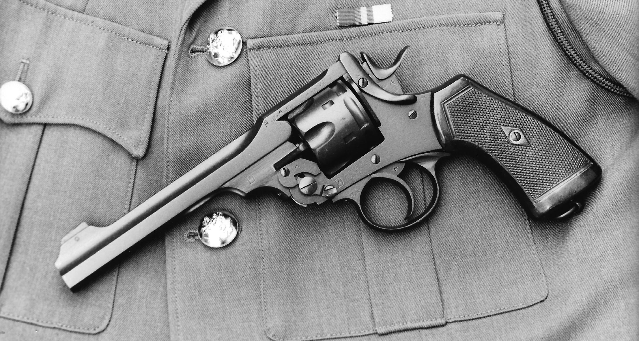 5 Important American-Made Pistols Used During World War II